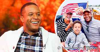 Craig Melvin and Wife Lindsay Are All Smiles in a Photo with Their Kids Onboard a Boat during 4th of July - AmoMama