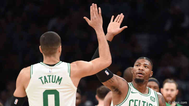 Celtics' Slow Motion Video Of Jayson Tatum, Marcus Smart Workout Will Get You Hyped