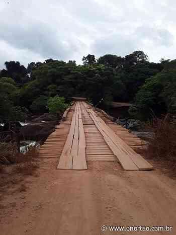 Prefeitura de Candeias do Jamari inicia obras na ponte do Rio Preto com parcerias - O Nortão Jornal