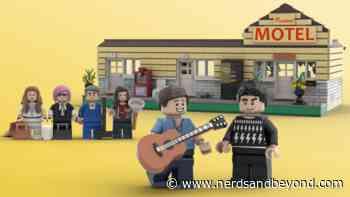 Ew, David! Vote Now to Support 'Schitt's Creek' Rosebud Motel LEGO Set - Nerds and Beyond