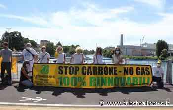"""""""Blitz"""" di Legambiente contro la centrale a carbone di Monfalcone - TRIESTEALLNEWS"""