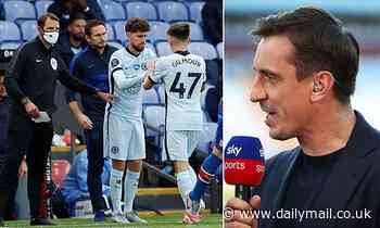 Gary Neville claims Frank Lampard has already decided to sell £50m man Jorginho