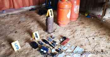 Fuerza Pública evita atentado terrorista en Cartagena del Chairá - El Colombiano