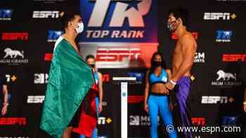 Jose Zepeda-Kendo Castaneda live results and analysis