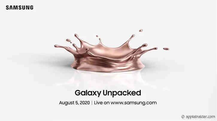Samsung expected to unveil 'Galaxy Fold 2,' Note 20 at virtual Galaxy Unpacked on Aug. 5