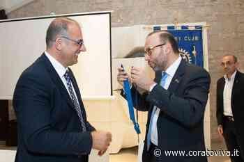 Passaggio del martelletto, Michele Rainone nuovo presidente del Rotary Club Corato - CoratoViva