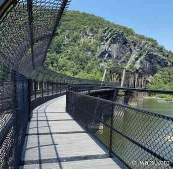 Appalachian Trail Bridge Near Harpers Ferry Reopens After Train Derailment Damaged It Last Year - WAMU 88.5
