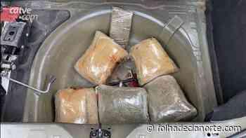PRE de Cianorte apreende 10 kg de maconha em veículo na PR 323 - Folha De Cianorte