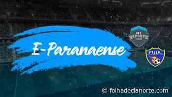 Copa E-Paranaense tem início com rodada dupla - Folha De Cianorte