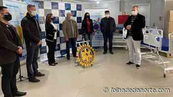 Rotarys Clubs de Cianorte entram camas e EPI para Fundhospar e Instituto Bom Jesus - Folha De Cianorte