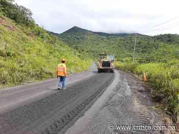 Rehabilitación de vía Gualaca – Chiriquí Grande presenta un 41.8 % de avance - Crítica