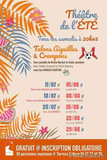 Talons Aiguilles et Crampons (théâtre) samedi 11 juillet 2020 - Unidivers