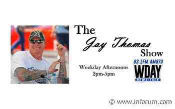 The Jay Thomas Show: Kelly Armstrong, Mandy George, Mark Simmons, Tony Gehrig - INFORUM