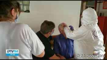 Prefeitura de Borda da Mata realiza testes de Covid-19 em asilo após morte por suspeita da doença - G1