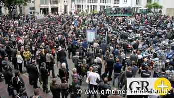 Rund 1000 Motorradfahrer protestieren in Gifhorn gegen Fahrverbot - Gifhorner Rundschau
