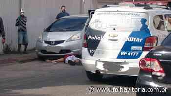 Polícia Civil prende suspeito de homicídio no bairro Muquiçaba em Guarapari - Folha Vitória