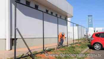 Unidade Básica de Saúde em Sobradinho II ganha cercamento - Agência Brasília