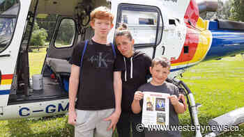 Langford teens reunited with family after rescue near Chemainus - Westerly News