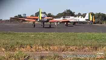 Aviões da FAB chamam atenção ao pousar em Araraquara - ACidade ON