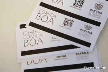 Santa Terezinha de Itaipu inicia entrega de cartões do Programa Comida Boa - CGN