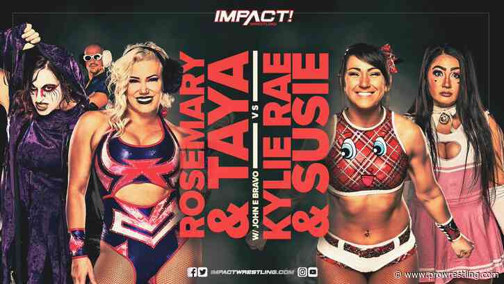 IMPACT Wrestling Results (7/7): Kylie Rae In Action, Jordynne Grace vs Kimber Lee, 4-Way Tag Team Match