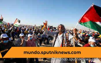 La ciudad de Jericó acoge un festival palestino contra la anexión de Cisjordania - Sputnik Mundo