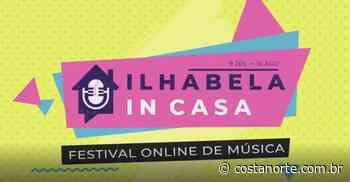 "Prefeitura de Ilhabela apresenta festival online de Música ""Ilhabela In Casa"" - Jornal Costa Norte"