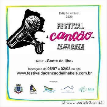 """Secretaria de Cultura realiza """"O Festival da Canção de Ilhabela"""" - PortalR3"""