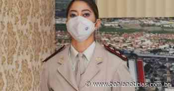 Feira de Santana: Capitã com 20 anos de polícia é a 1ª comandante mulher em uma CIPM - Bahia Notícias
