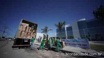 Dilton Coutinho | JBS realiza doação de camas clínicas para Feira de Santana - Acorda Cidade