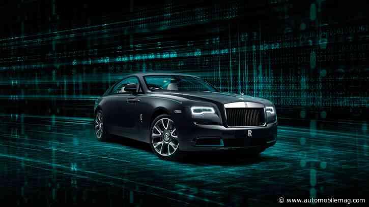 $400K-Plus 2021 Rolls-Royce Wraith Kryptos Carries Secret Messaging
