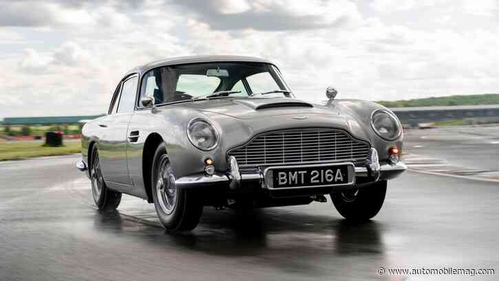 Aston Martin's DB5 Continuation Cars Are Armed With a License to Thrill