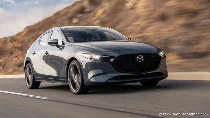 2021 Mazda 3 Turbo Specs Blown Out of the Corporate Wastegate Early