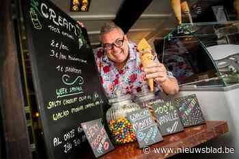 De Troubadour wordt ijsjesboer: Berchemnaar John Verbeeck he... (Berchem) - Het Nieuwsblad