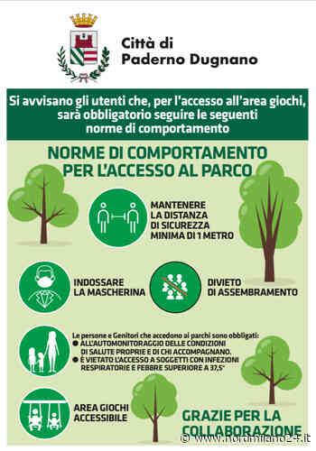 Paderno Dugnano, da oggi riaprono 18 aree gioco - Nord Milano 24