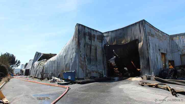 Hangar ravagé par un incendie à Aigues-Mortes : après les flammes, les questions - Midi Libre