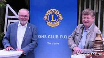 Lions Eutin: Manfred Meyer folgt Michael Koch als Präsident des Lions-Clubs | shz.de - shz.de