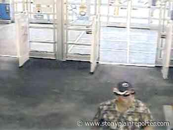 Parkland RCMP request public assistance to identify suspect - Stony Plain Reporter