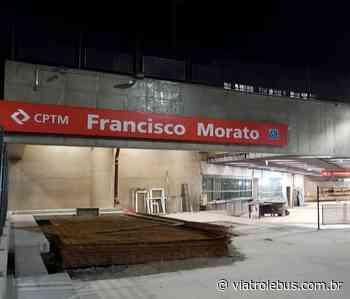 Estação Francisco Morato, na Linha 7 da CPTM, ganha placas de comunicação visual - Via Trolebus