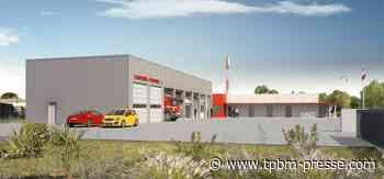 a la pelle Entraigues-sur-la-Sorgue : une nouvelle caserne de pompiers fin 2021 - TPBM