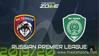 2019-20 Russian Premier League – Tambov vs Akhmat Grozny Preview & Prediction - The Stats Zone