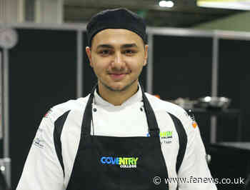 Coventry College helps Romanian chef to cook up successful life recipe - FE News