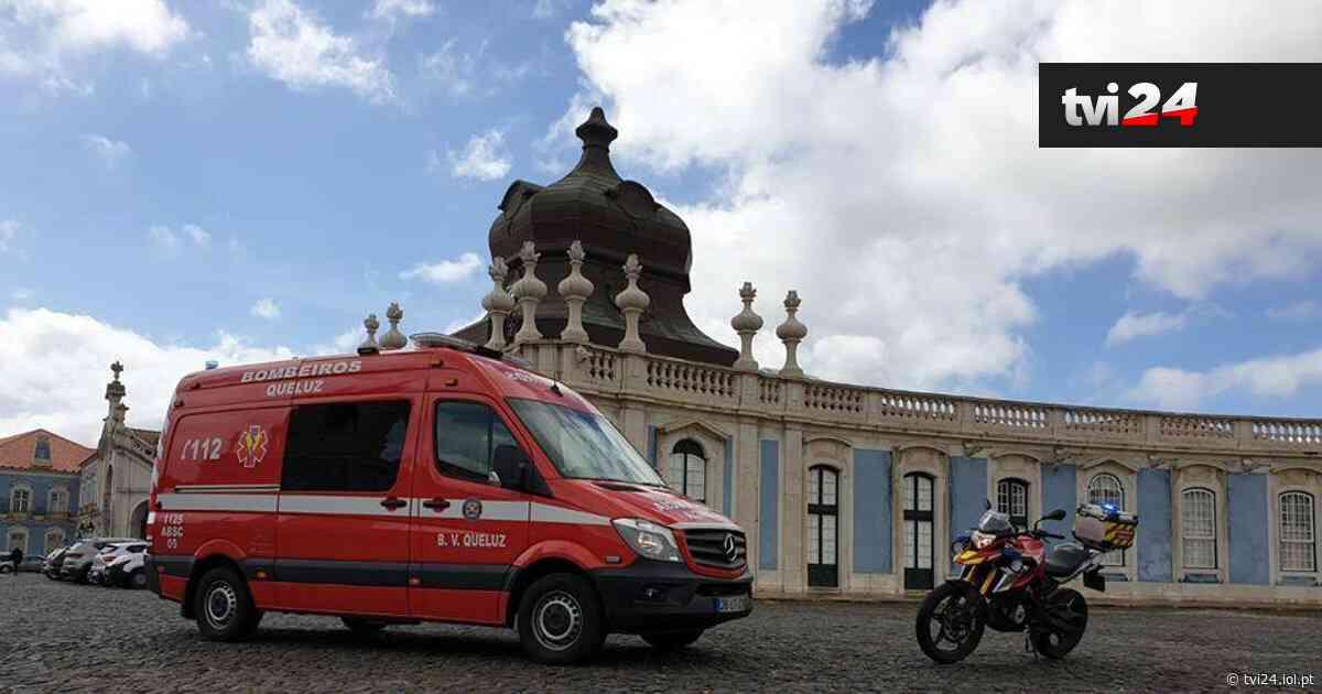 Queluz: sobe para 13 o número de bombeiros infetados por Covid-19 - TVI
