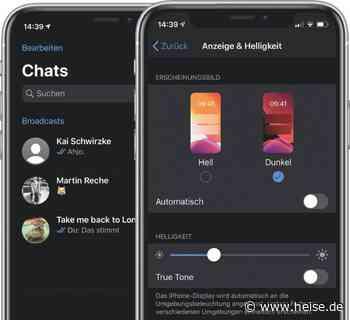 Tipp: Dark Mode bei WhatsApp am iPhone aktivieren - Mac & i
