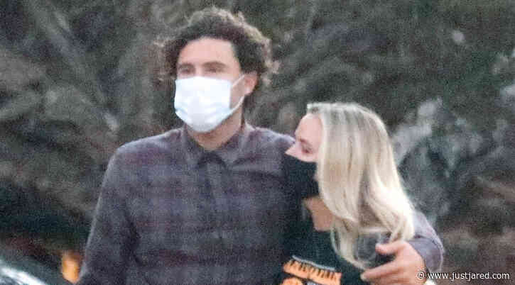 Brody Jenner Cozies Up to Girlfriend Briana Jungwirth on Dinner Date!