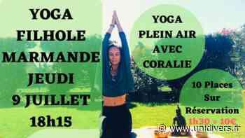 Yoga Plein Air à la Filhole à Marmande avec Coralie jeudi 9 juillet 2020 - Unidivers
