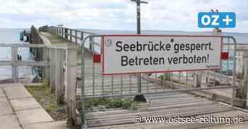 Pfusch und Konstruktionsfehler: Seesteg in Sassnitz bleibt gesperrt - Ostsee Zeitung