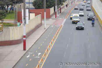 Implementan ciclovías emergentes en las avenidas Francisco Pizarro y Túpac Amaru - Radio Nacional del Perú