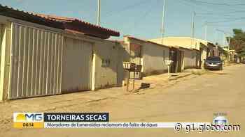 Moradores reclamam de falta d'água em bairro de Esmeraldas, na Grande BH - G1