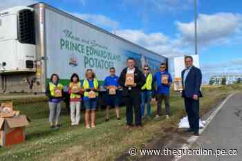 Prince Edward Island Business Continuity Group welcomes visitors to the Island, hand out gift bags - The Guardian